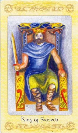 Король мечей таро: значение в отношениях, перевернутый