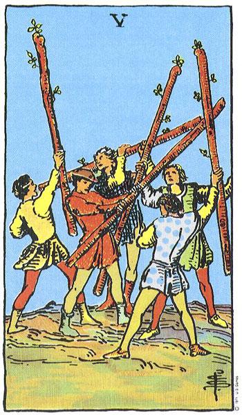 Значение карты таро двойка мечей 2