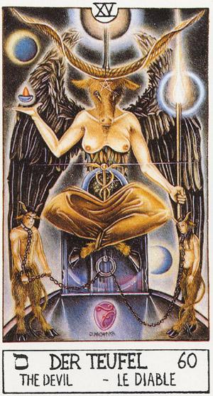 всего что значит карта дьявола в таро значение марки